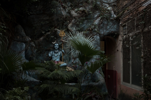 <h5>Shiva in Rishikesh (Himalayas), India</h5>