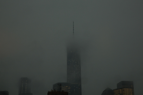 <h5>Summer Storm, Freedom Tower, NYC</h5>